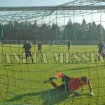 Il gol del vantaggio di Guidoni su rigore
