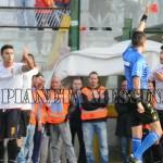 Il contestato arbitro Marinelli espelle Simonetti