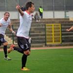 La gioia di Ferreira dopo il gol del vantaggio