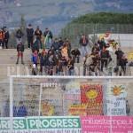 """I tifosi del Messina al """"Pinto"""" di Caserta"""