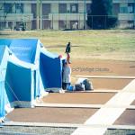 La tendopoli dei profughi