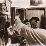 I fedeli in pellegrinaggio a Giampilieri