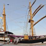 La nave Palinuro nel porto di Messina