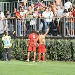 La delusione dei tifosi dopo il ko a Castel Rigone