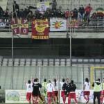I tifosi festeggiano a Foggia dopo la vittoria
