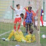 L'esultanza del portoghese dopo il gol