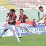 Ferreira scocca il destro per il gol del vantaggio