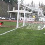 Lagomarsini battuto da Marolda. E' il gol partita