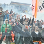 Messina-Catanzaro, l'esultanza dopo il gol