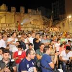 Quasi mille tifosi alla festa per il Messina