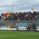 """I supporter presenti al """"D'Ippolito"""" di Lamezia Terme"""
