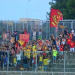 I tifosi del Messina a Barletta