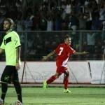 Floriano esulta dopo il gol
