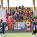 I tifosi giallorossi a Capo d'Orlando