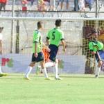 L'esultanza di Mancosu dopo il quinto gol