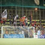 """I tifosi del Messina al """"Menti"""" di Castellamare"""