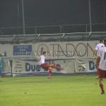 Il gol del momentaneo vantaggio del Messina con Izzillo