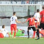 Il gol del Foggia firmato da D'Allocco