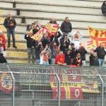 I tifosi del Messina a Melfi