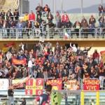 """I tifosi messinesi al """"San Vito"""" di Cosenza"""