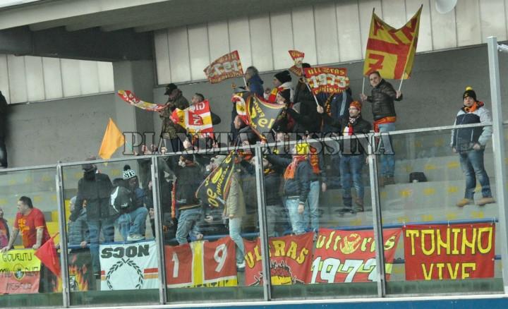 I supporter peloritani a Francavilla