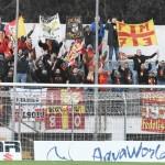 Tifosi del Messina anche a Matera
