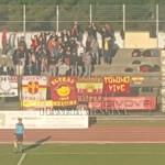 I supporter giallorossi presenti anche a Ischia