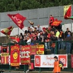 I tifosi peloritani presenti a Ischia