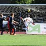 Il gol di testa di Bjelanovic