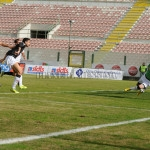 Il gol di Corona su assist di Damonte