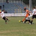 Il gol di Leccese, è l'1-0 per la Lupa Roma