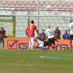 Il rigore di Calderini respinto da Berardi