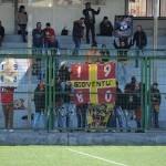 """I supporter peloritani al """"Bisceglia"""" di Aversa"""