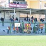 I tifosi del Messina ad Aversa