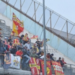 I tifosi del Messina a Benevento