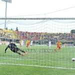 Il gol su rigore di Eusepi
