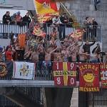 """I supporter peloritani anche al """"Vigorito"""" di Benevento"""