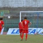 Il gol su rigore di Caccavallo