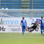 Il gol partita di Barraco su rigore