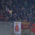 """I tifosi del Messina al """"Pinto"""""""