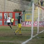Tavares esulta dopo il 3-2 definitivo per il Messina