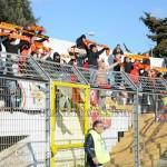 I  sostenitori del Messina a Matera