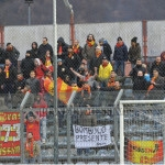 I tifosi messinesi presenti a Rieti