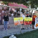 I tifosi vicino Roma nella prima amichevole dellla gestione Bertotto