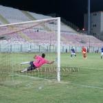 Il primo gol di Pozzebon su rigore
