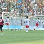 Il primo gol della Reggina siglato da Porcino