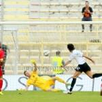 Il gol partita realizzato da Mancini