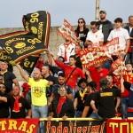 I tifosi peloritani presenti a Catanzaro