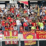 I tifosi del Messina a Catania
