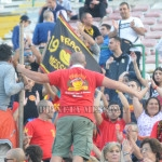 Sostenitori compatti nel match contro la Casertana